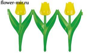Ограждение Цветы Тюльпаны ассорт. 450*300 упак. 6 штук Альтернатива оптом