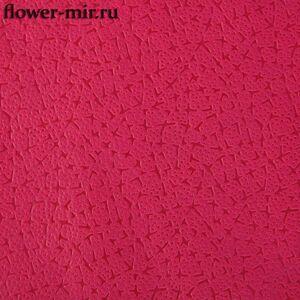 Фетр 3D ламинированный Звездочки красный 10 ярд.х 50 см. Китай оптом